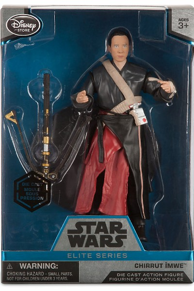 Hasbro Star Wars Elite Series Die Cast Rogue One Chirrut Imwe